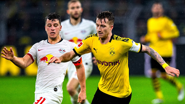 Dortmund, RB Leipzig Draw in 6-Goal Thriller