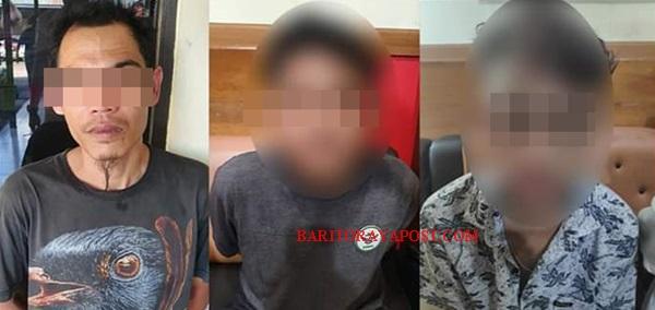 Komplotan Pelaku Curat berhasil Digulung Polresta Palangka Raya