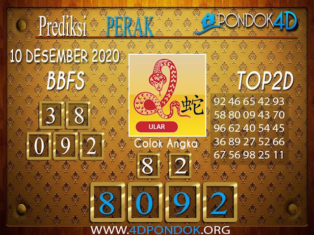 Prediksi Togel PERAK PONDOK4D 10 DESEMBER 2020