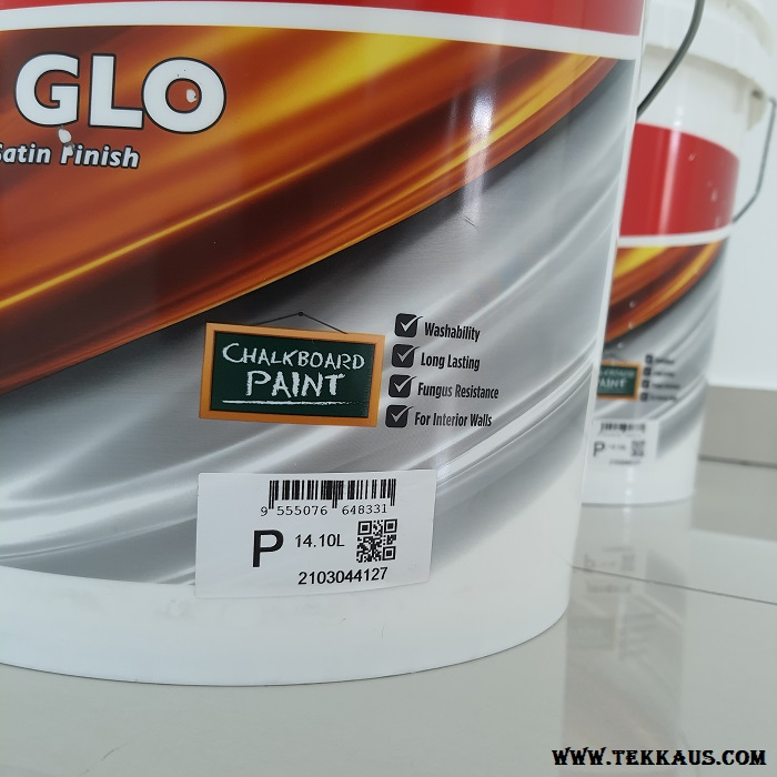White Nippon Paint Satin Glo For Interior