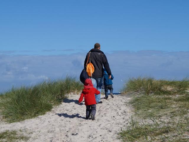 Der Strand von Wendtorf im Naturschutzgebiet Bottsand. Bereits der Weg zum Wendtorfer Strand ist ein tolles Natur-Erlebnis!