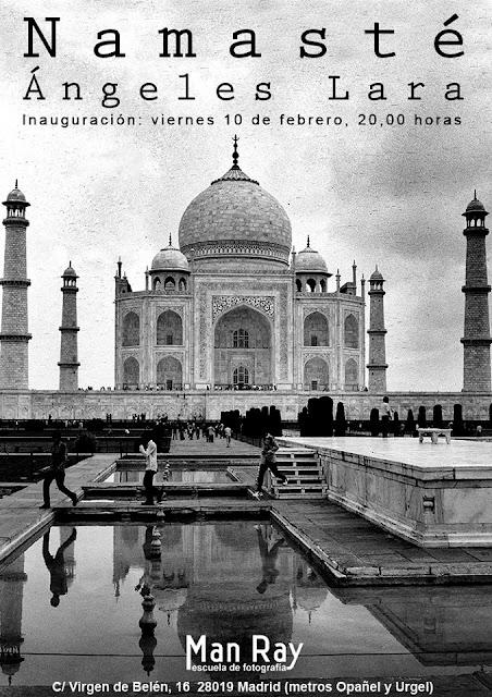 """""""Namasté"""", exposición fotográfica de Ángeles Lara"""