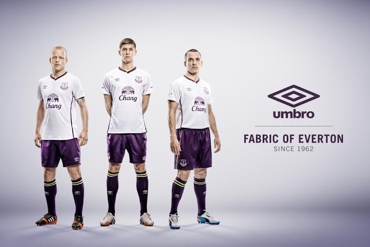 sports shoes 858e8 f838e New Umbro Everton 14-15 Home, Away and Third Kits - Footy ...