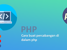Cara buat percabangan di dalam php