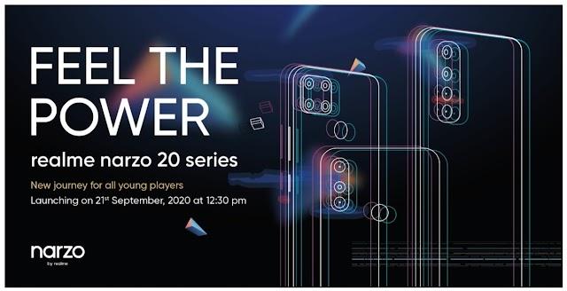 realme อินเดีย เปิดตัว Narzo 20 Series สมาร์ทโฟนซีรีส์ใหม่ พร้อมเจาะกลุ่มไลฟ์สไตล์คนรุ่นใหม่ได้มากยิ่งกว่า