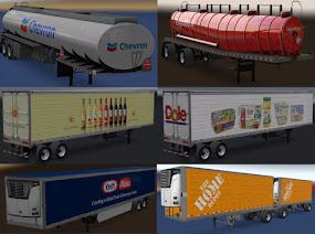 ats real companies & trailers pack v1.7 screenshots 1