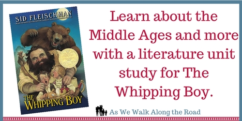 Literature unit study for The Whipping Boy