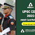 UPSC CDS 1 2020 Admit Card Released: Direct Link to Download
