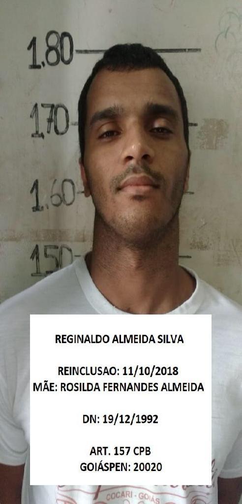 12 - Fuga em massa agora no Presídio de Cristalina. 19 presos. 61 9230-6834: LISTA DE FORAGIDOS