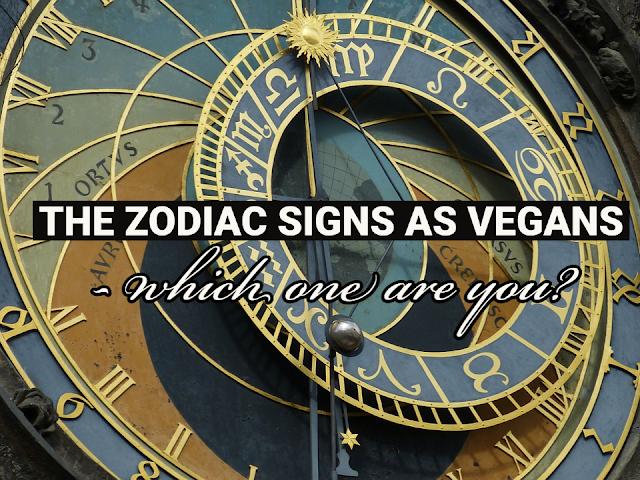 vegan zodiac