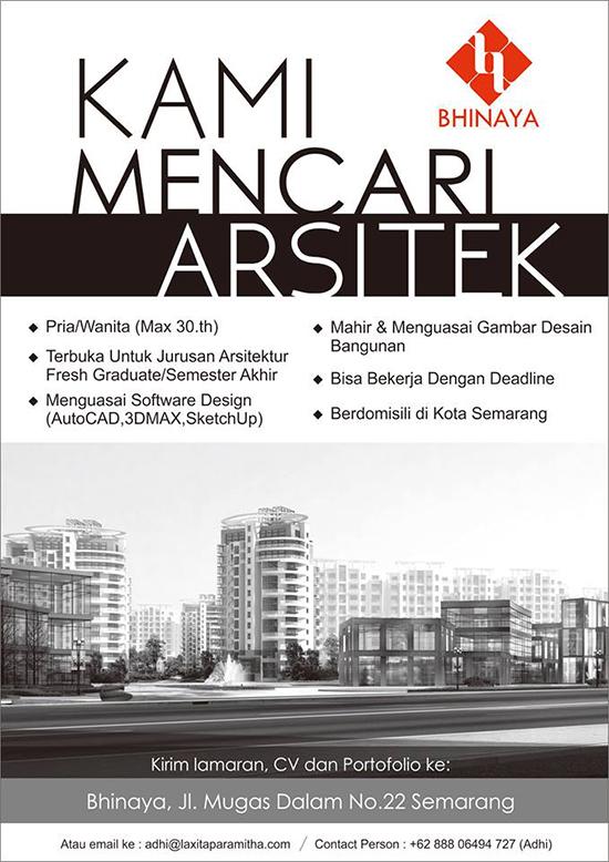 Lingkar Warna Lowongan Kerja Arsitek Terbaru Semarang