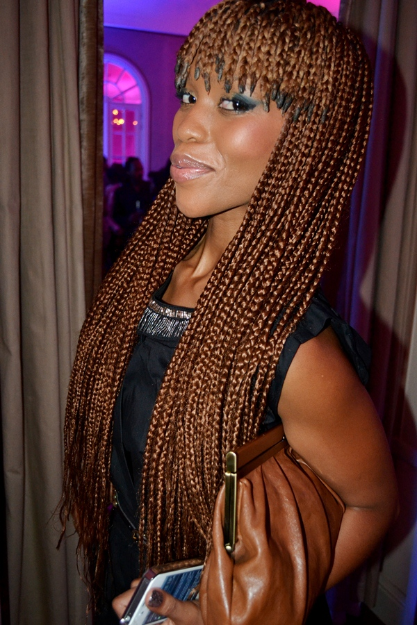GRACEFUL HAIR MAKEOVER: Braided bangs