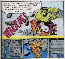 Fantastic Four 25 Hulk-Thing Battle