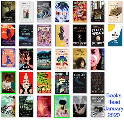 Grid of books matches list below.