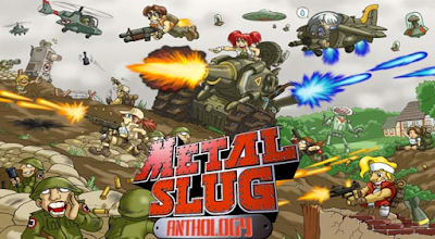 Download Metal Slug Anthology for Android PPSSPP ISO Terbaru 2017 Gratis