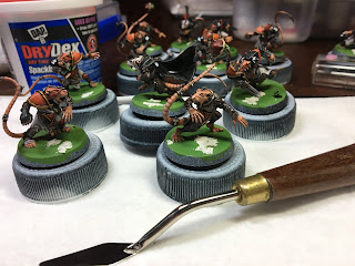 GW Blood Bowl Skavenblight Speed Painting how-to step by step