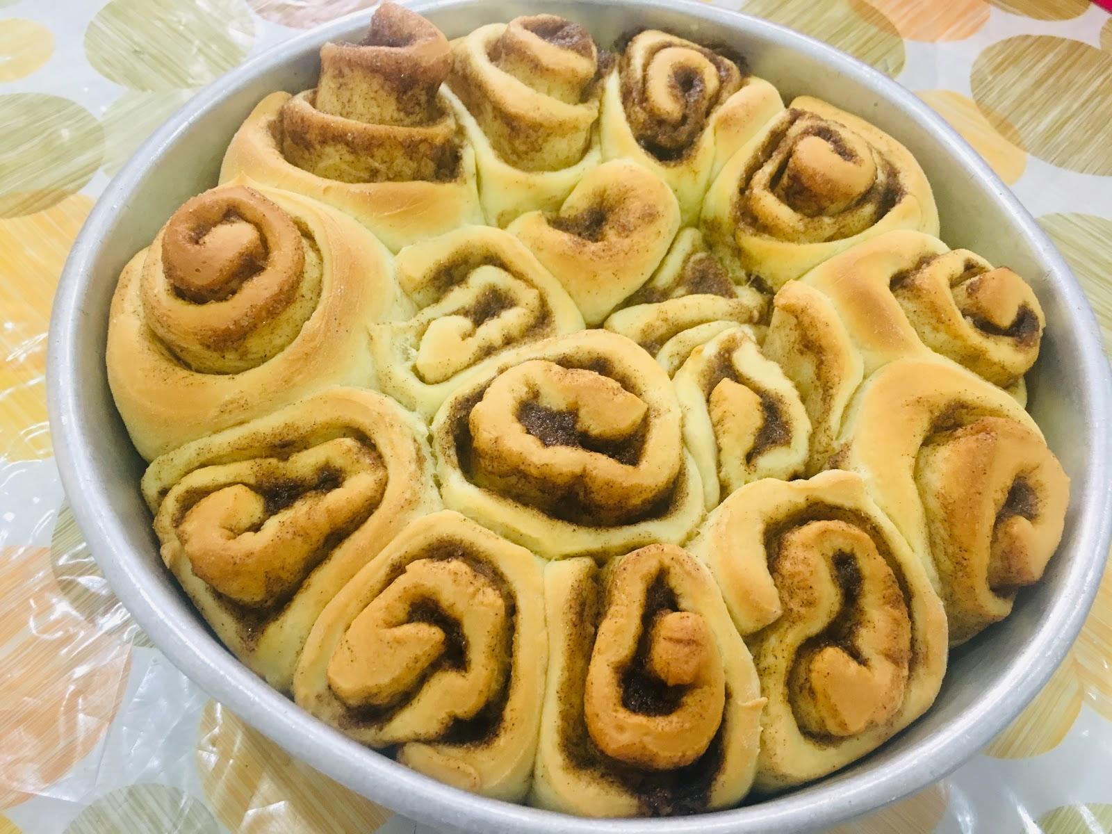 tips   mudah buat bun cinnamon rolls  lembut sedap  gebus  resepi sukatan Resepi Roti Hotdog Lembut Enak dan Mudah