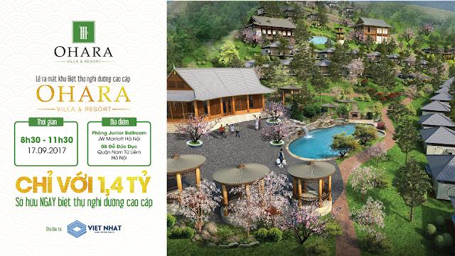 Lễ ra mắt dự án Ohara Villas Resort Hòa Bình