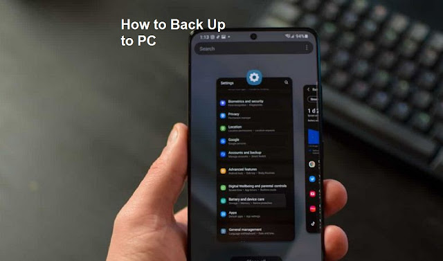 Samsung Galaxy Back up to PC