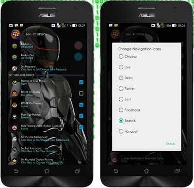 BBM-FT AKA Mod Full Transparent V4 Based New v2.12.0.9 Apk