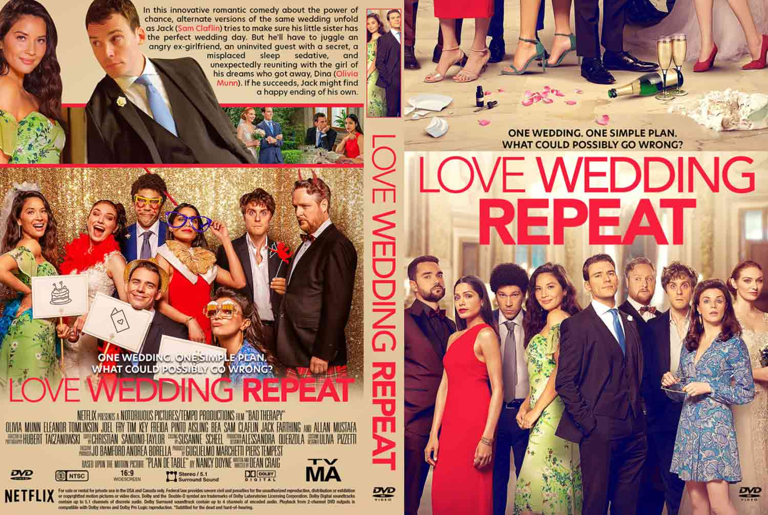 Love Wedding Repeat Dvd Cover Cover Addict Free Dvd Bluray Covers And Movie Posters