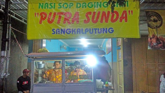 Warung Sop Daging Sapi Putra Sunda Cilacap