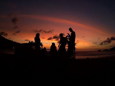 Sunset in Pulau Breuh
