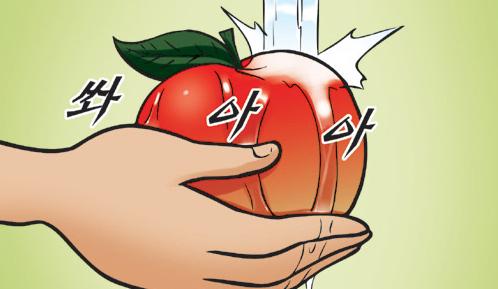 Kim Chi & Củ Cải (bộ mới) phần 152: Ăn táo cả vỏ
