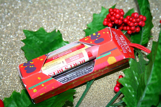 Christmas with Burt's Bees