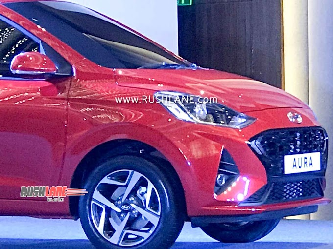 HYUNDAI AURA SEDAN REVEALED WITH 3 ENGINES, 12 SEGMENT FIRST FEATURES