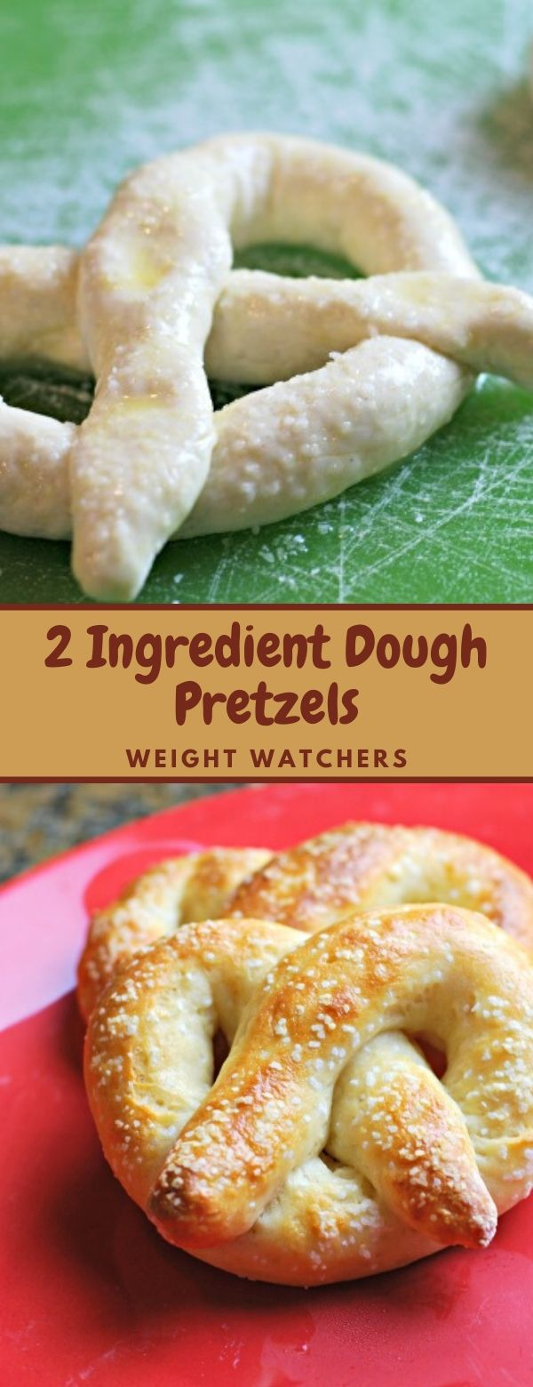 2 Ingredient Dough Pretzels - Weight Watchers