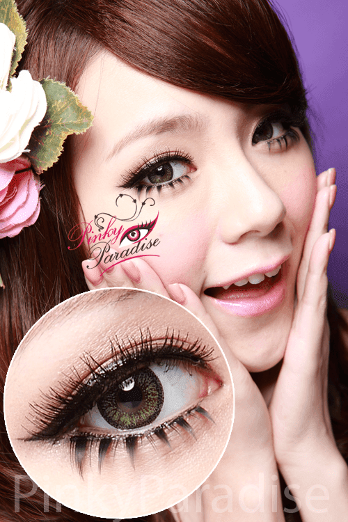 Venus Eye Green Circle Lenses (Colored Contact)