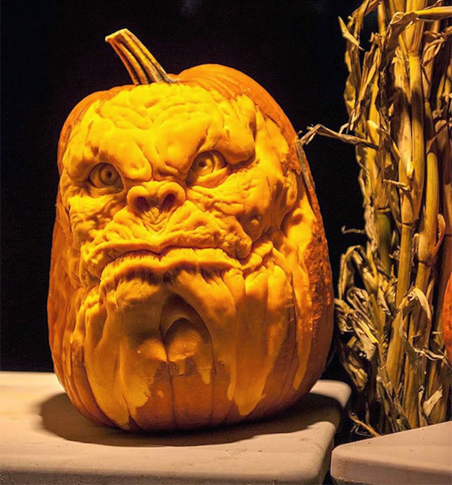 Simply Creative Pumpkin Carvings By Jon Neill