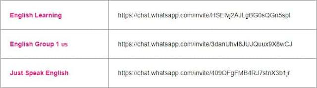 english learning group of whatsapp