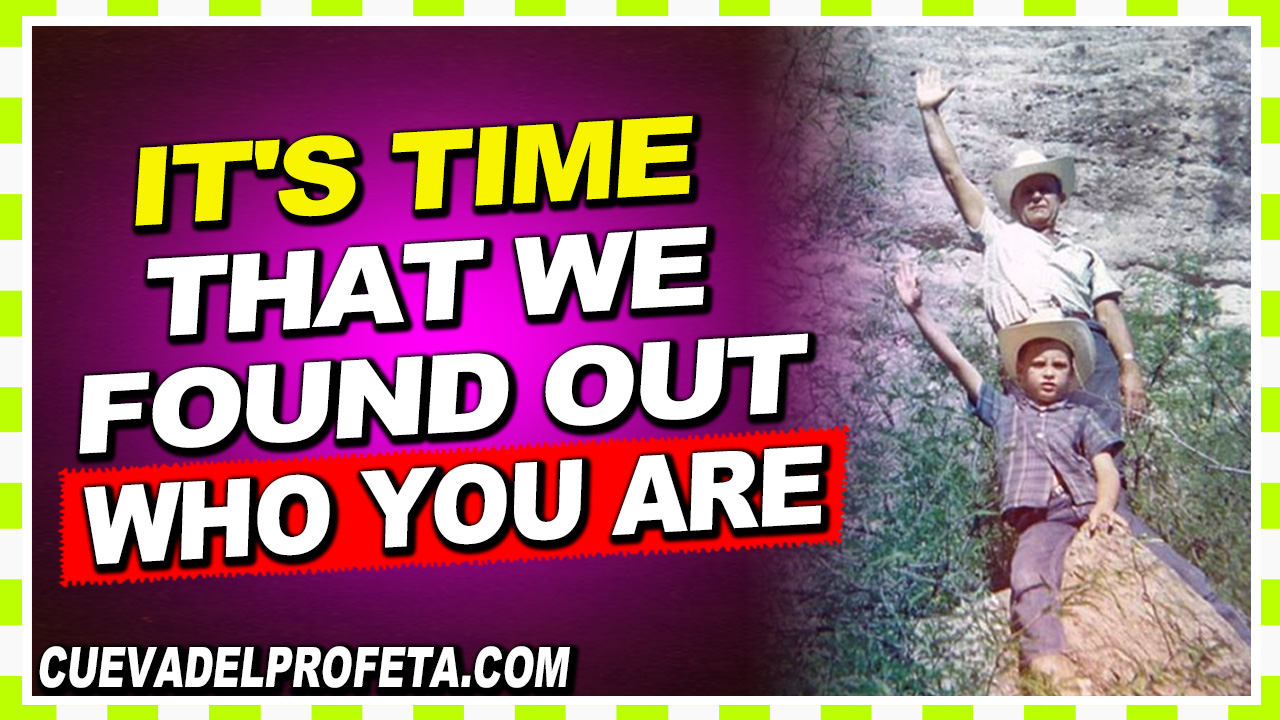 It's time that we found out who you are - William Marrion Branham