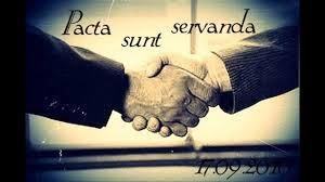 Pacta Sunt Servanda adalah