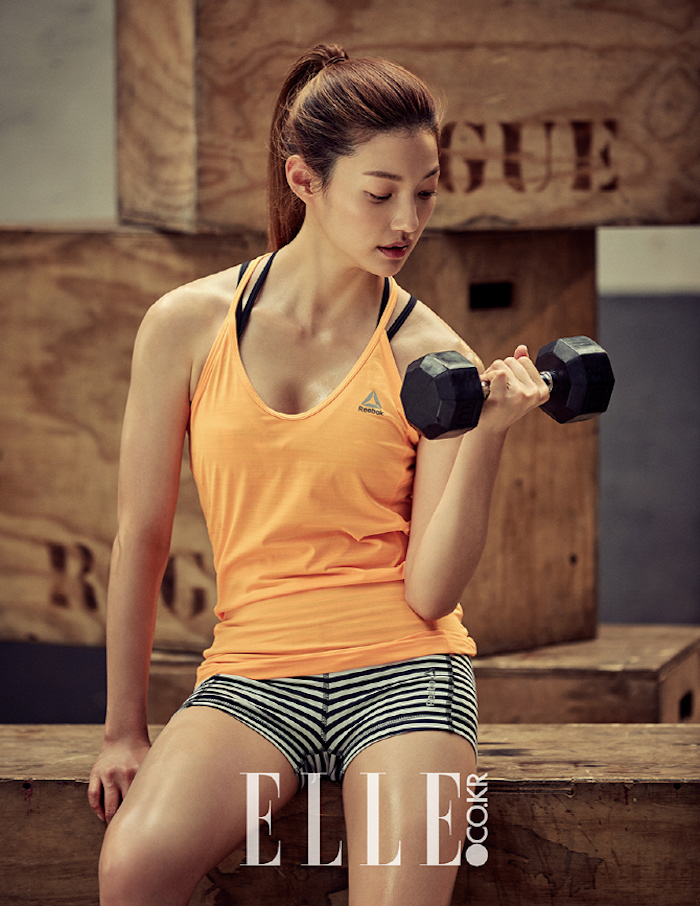 Lee El, Elle Korea