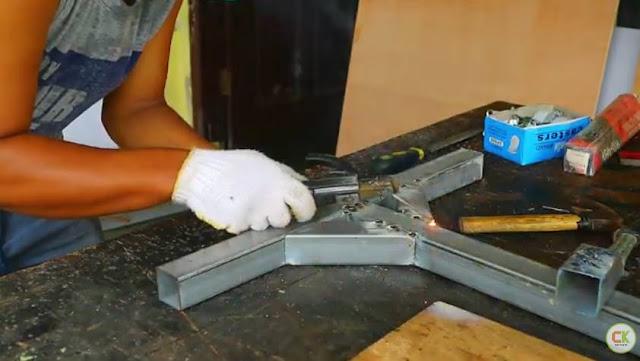 Cara mengelas besi Tipis Hollow dengan las listrik