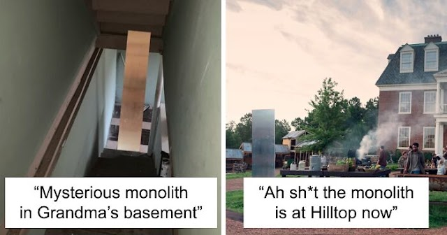 30 People Are Sharing Hilarious Memes Following The 3rd Apparition Of The Mysterious Monolith