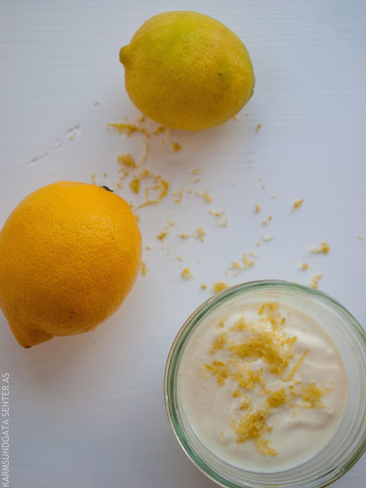 Oppskrift på yogurt med sitrusfrukt