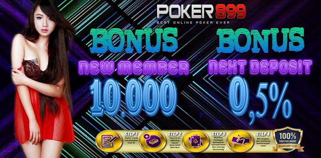 Agen Poker Uang Asli Poker899 Bonus Terbesar
