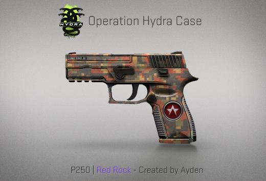 Operation Hydra Case - P250 | Red Rock