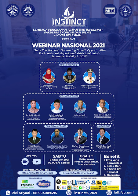 WEBINAR NASIONAL INSTINCT V 2021