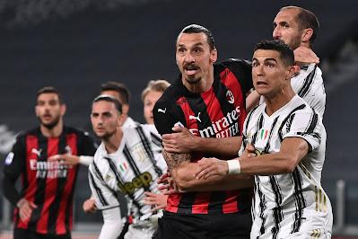 صور.. ميلان يصعق يوفنتوس بثلاثية في الدوري الإيطالي