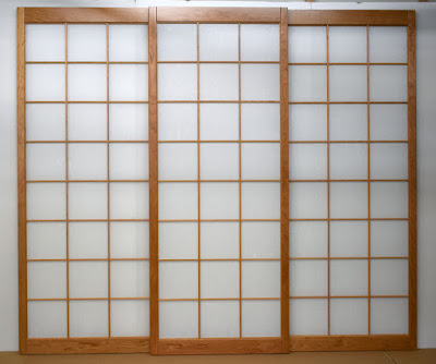 Cherry Japanese Shoji screens