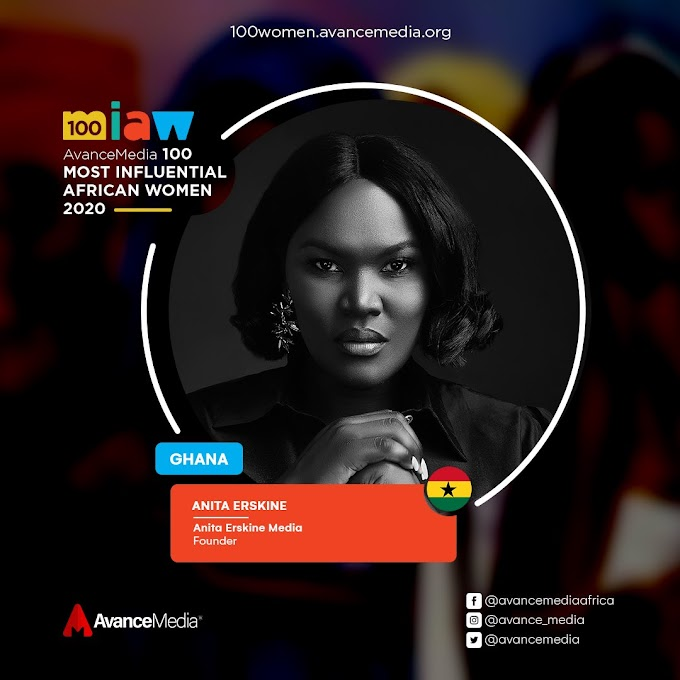 Anita Erskine, Lucy Quist and More shortlisted for Top 100 Most Influential African Women for 2020