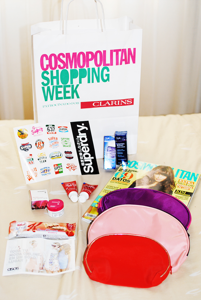 Cosmopolitan shopping week Madrid, SNB BLOG, Nery Hdez,Carpa Callado ,Superdry, nails