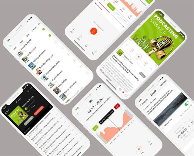 Aplikasi Podcast Podbean
