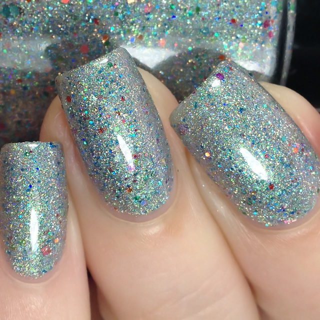 Sassy Pants Polish-Rainbow Rain