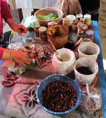 Marché Nam Pam sur le lac Inlé en Birmanie